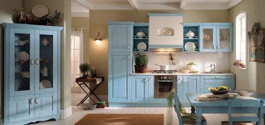 mavi-mutfak-dolabi-modelleri